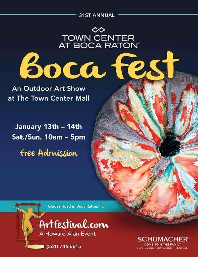 Boca Fest Art Festival, Boca Raton, Florida.