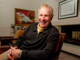 "Wayne Rogers portrait in Florida. Rogers was an actor most known for playing Captain ""Trapper"" John McIntyre on M*A*S*H."