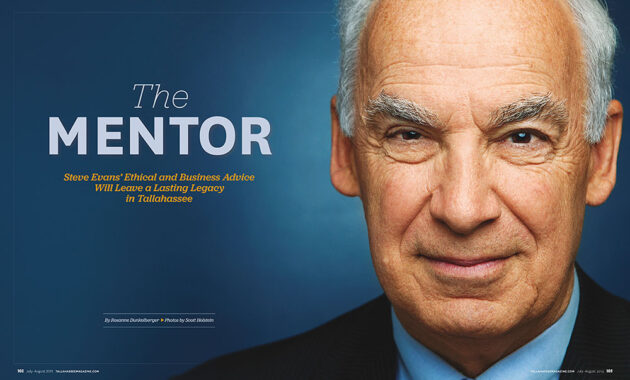 Portrait of a business man in a magazine spread.