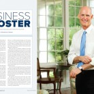 Governor Rick Scott poses for an environmental portrait in Tallahassee by Florida portrait photographer Scott Holstein.