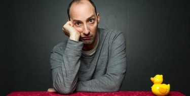 Photographing Tony Hale in Tallahassee, Florida
